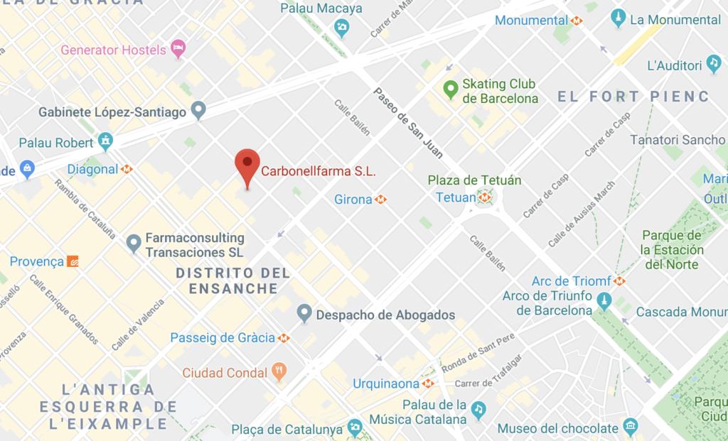MAPA - Nueva oficina de CarbonellFarma