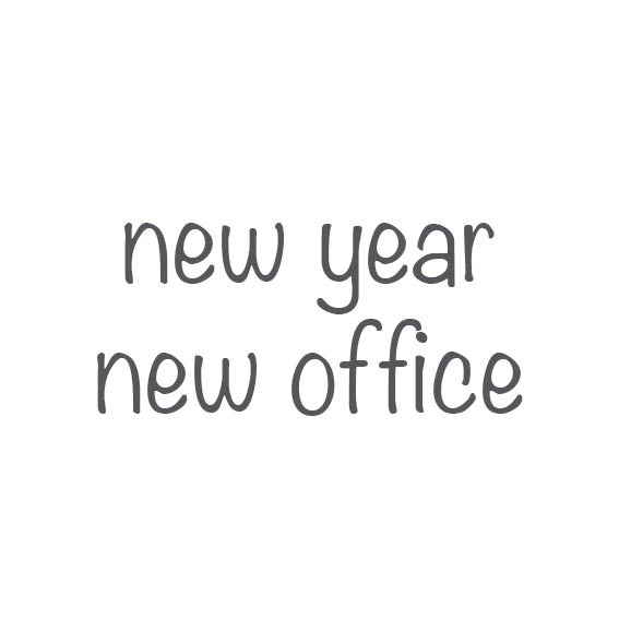 New year, New office