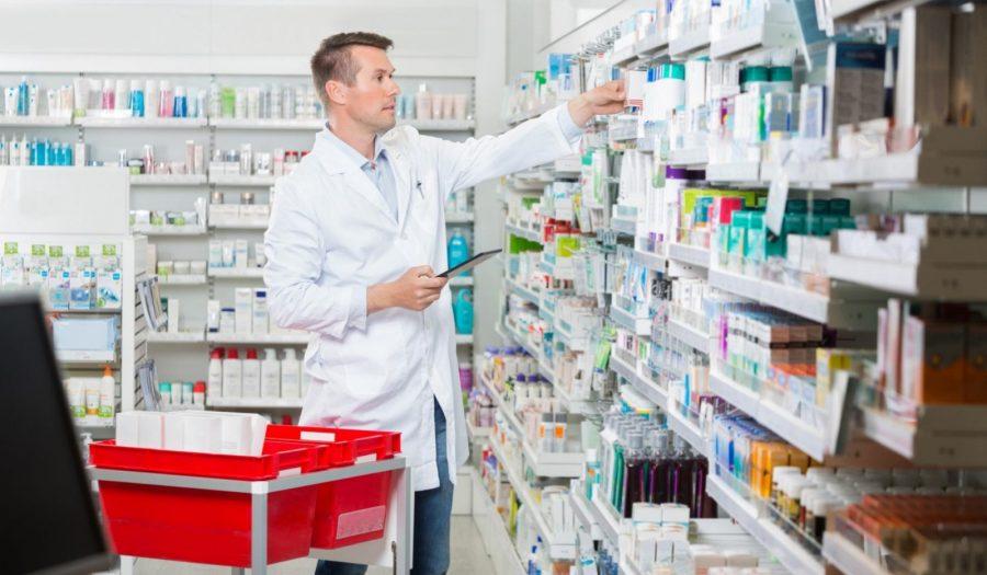Inventario de stock en la farmacia